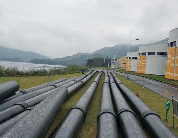 煌盛管业助力农夫山泉水源地引水管道建设
